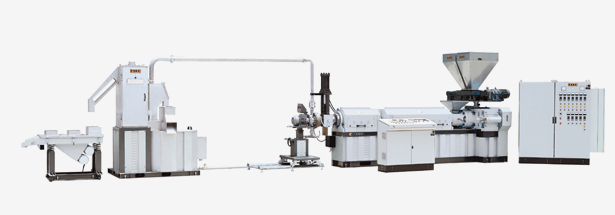Single Screw Underwater Pelletizing Extrusion Line